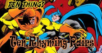 Ten Rhyming Pairs Ten Things
