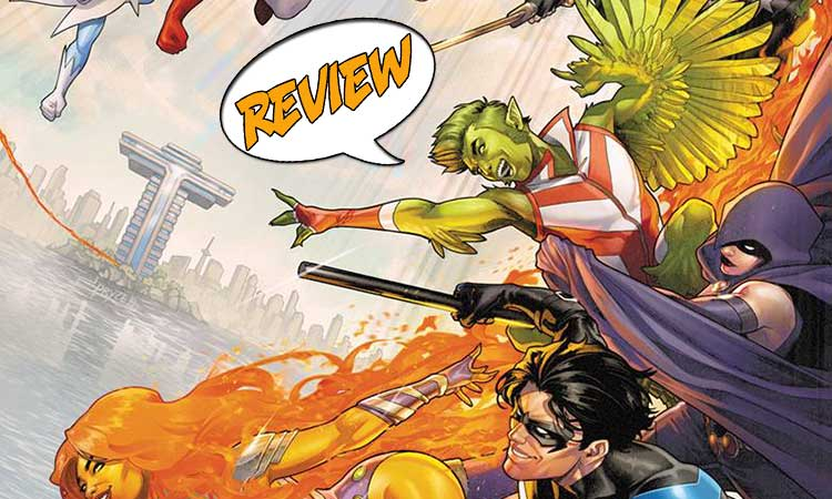 Titans United #1 Review